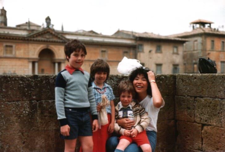 familia en 1980