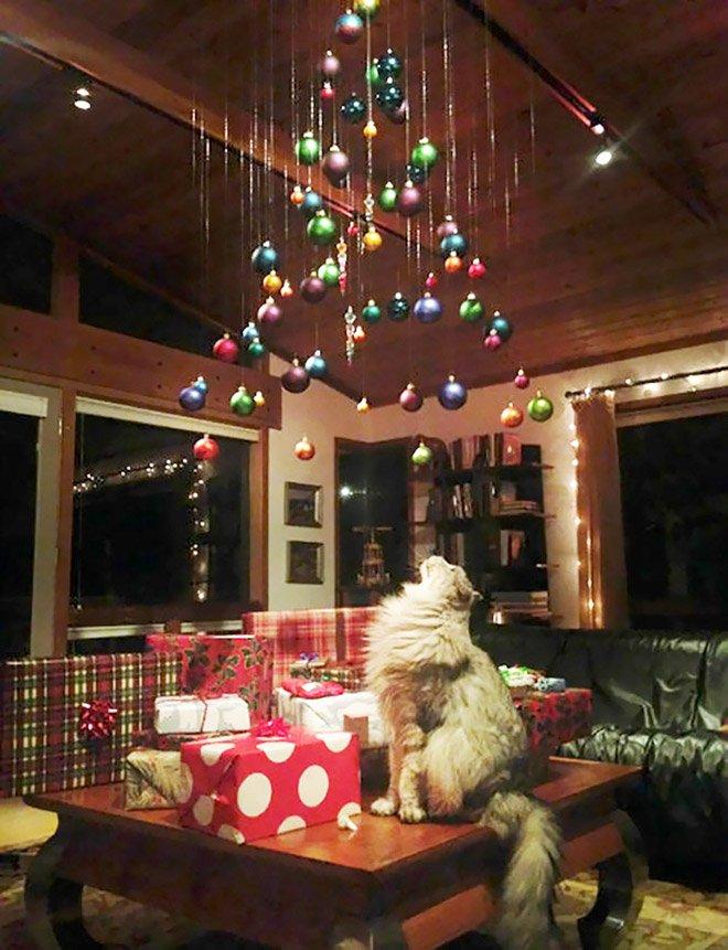 protegiendo arboles de navidad de las mascotas (13)