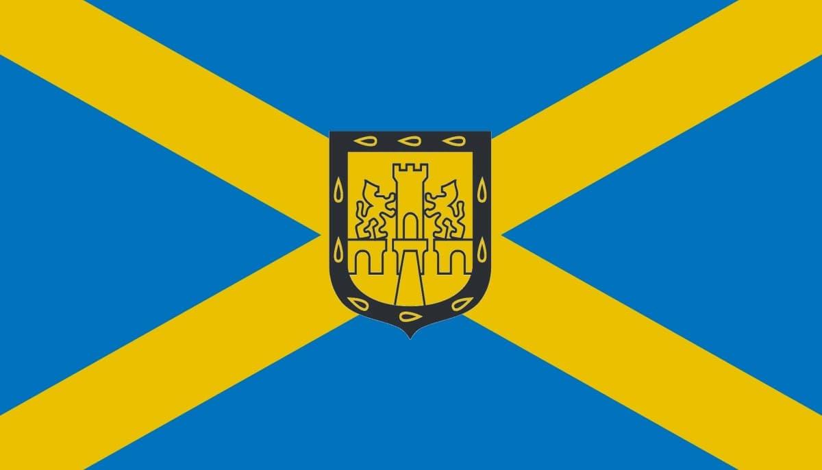 Bandera de la Ciudad de Mexico