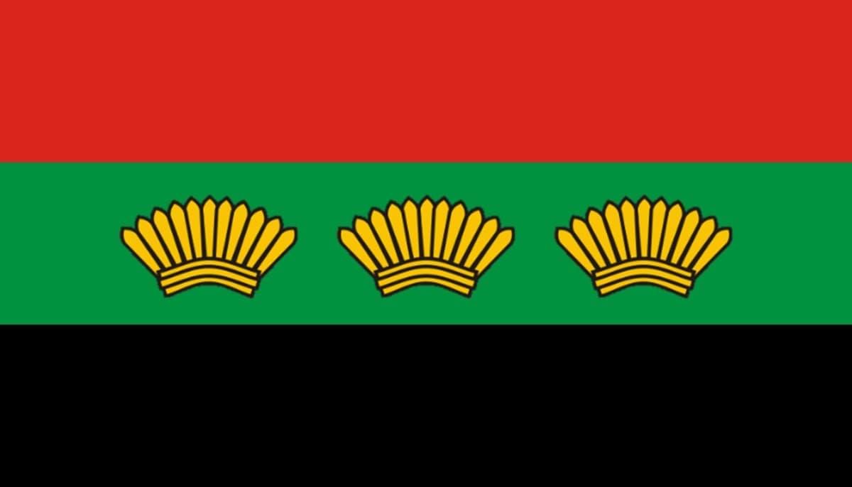 Bandera del estado de Michoacan