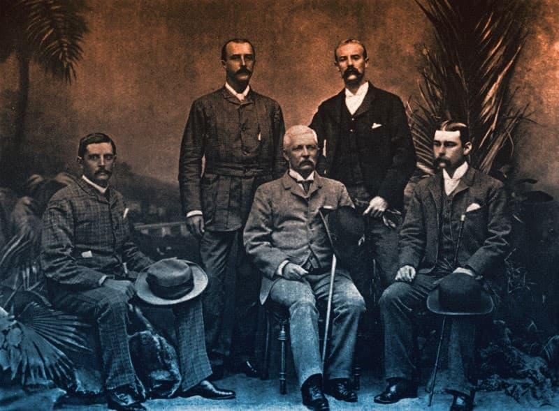 Expedicion Emin Pasha Relief Expedition 1890
