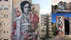 Murales sobre las maravillas de la infancia por Lula Goce
