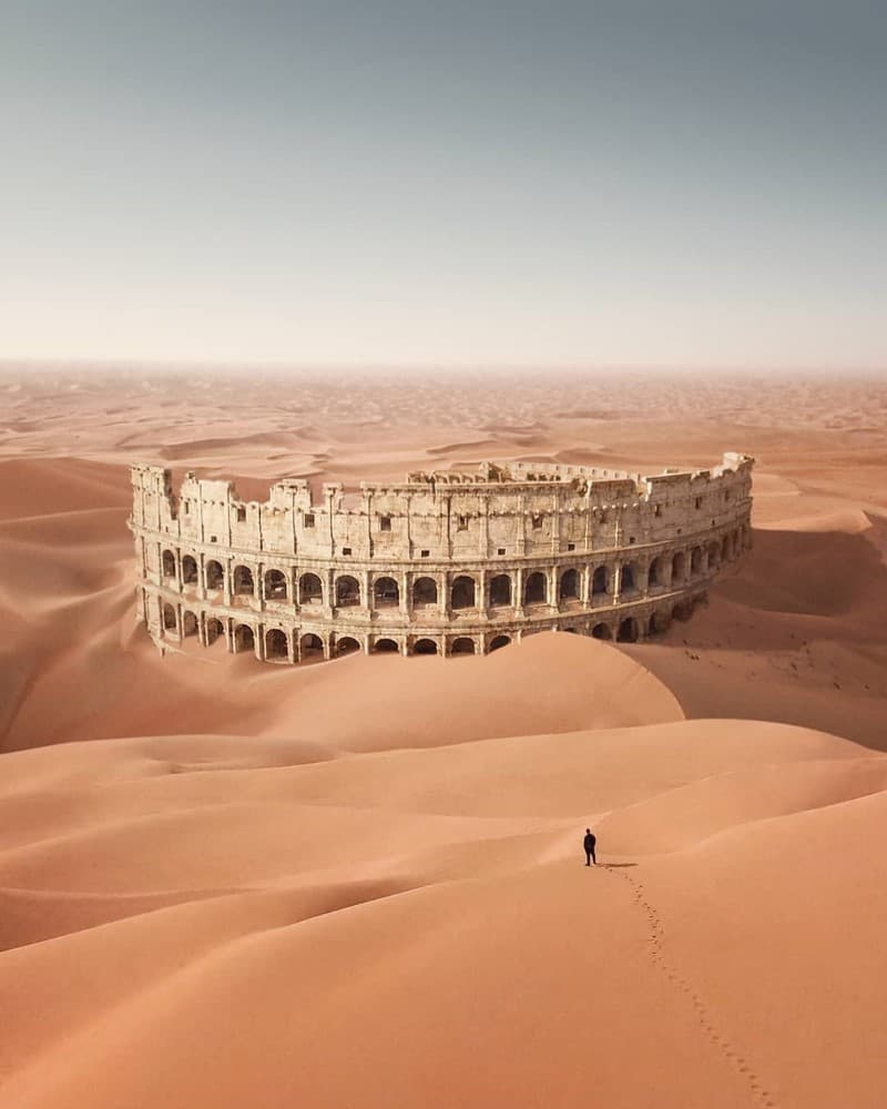 coliseo romano ciudades postapocalipticas (1)