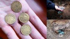 Recuperan tesoro con miles de monedas medievales en Hungría.