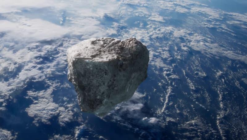 asteoride aproximandose a la tierra(1)