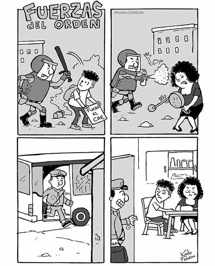 comic de la policia