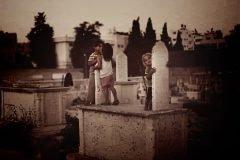 niños del cementerio