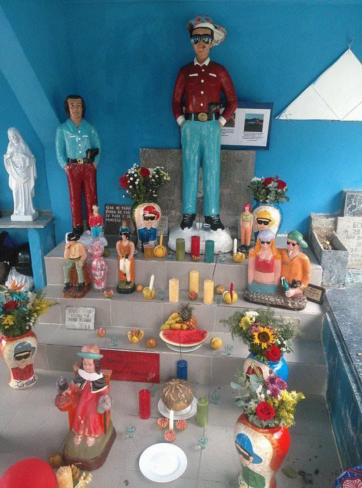 Altar a Ismael Sánchez Santos Malandros