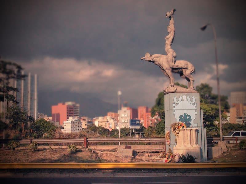 Estatua de María Lionza en Caracas