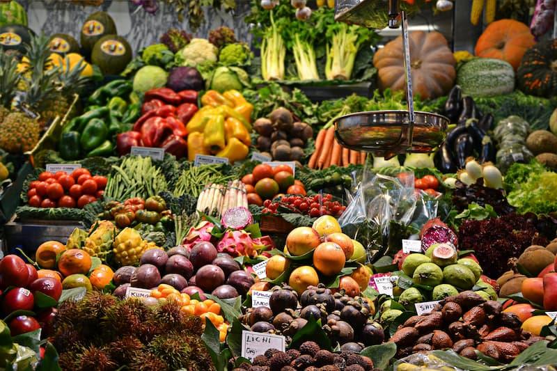 desperdicio de alimentos naturales