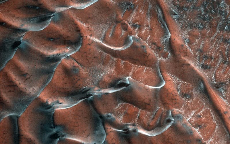 dunas agua congelada en Marte(1)