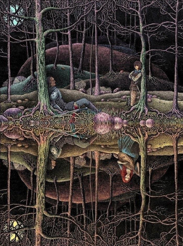 ilustraciones cuentos de hadas y fantasia (5)