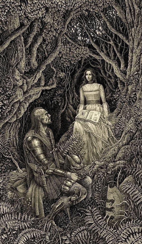 ilustraciones cuentos de hadas y fantasia (7)