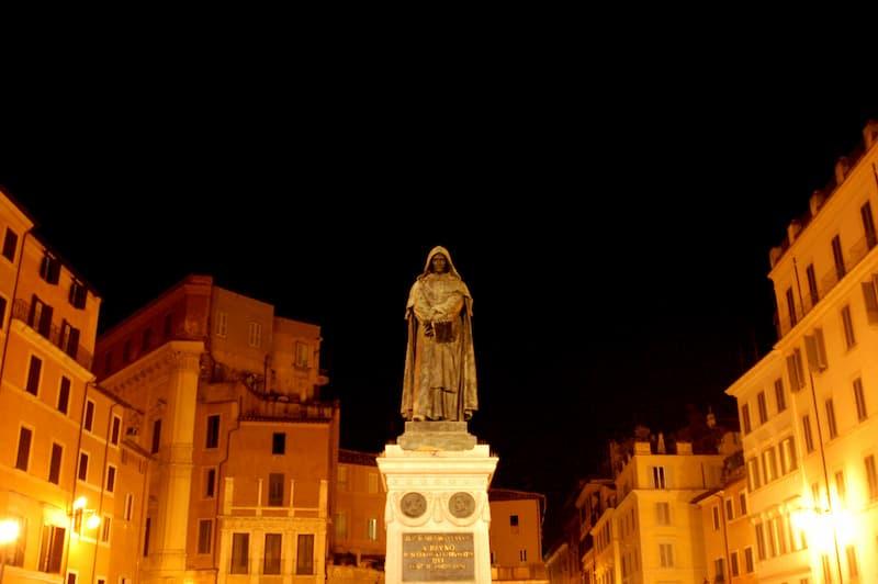 Giordano Bruno Campo de Fiori(2)