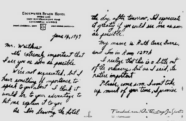 carta de Steinhagen a Waikus