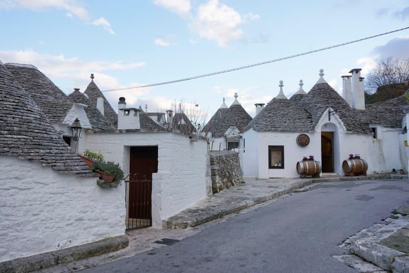 casas pintadas con cal