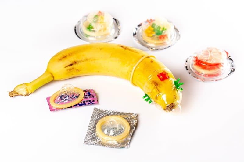 diversos tipos de condones