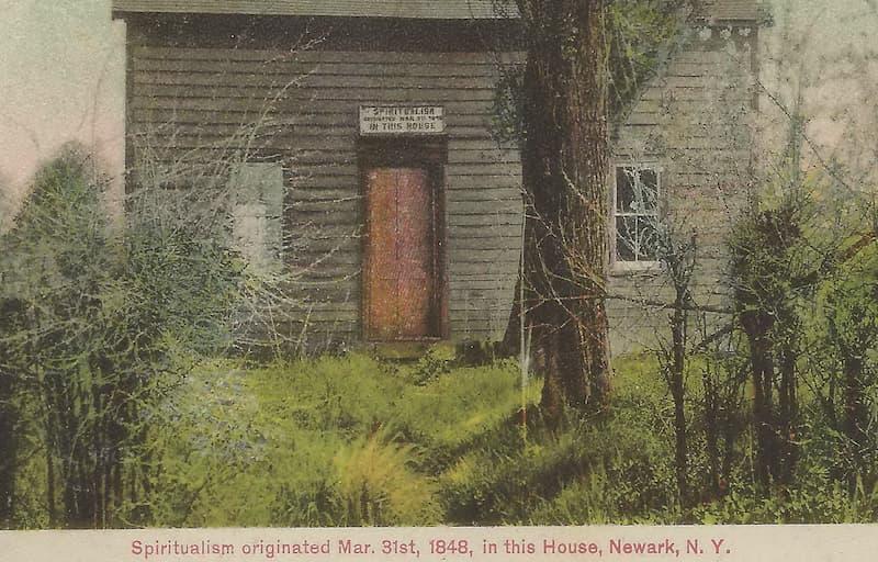 la casa donde surgio el espiritismo