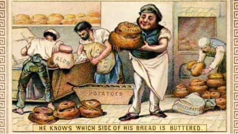 pan adulterado