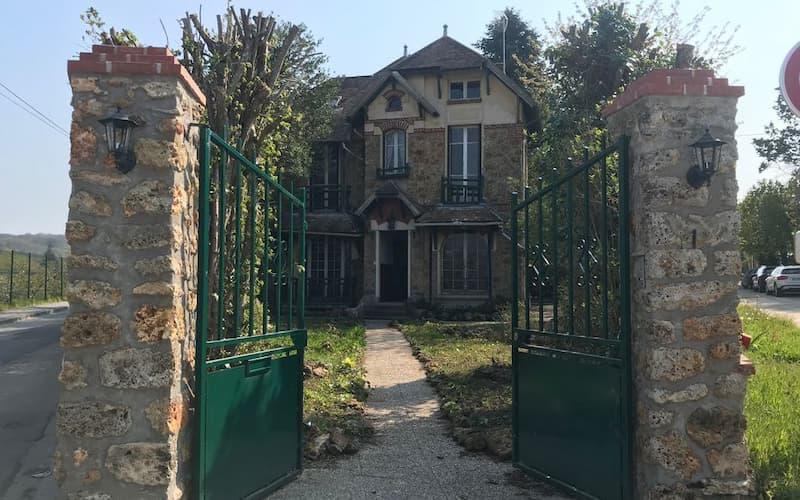 Casa de Marie Curie en Francia(1)