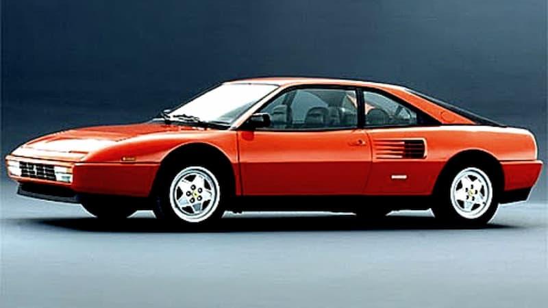 Ferrari Mondial modelo 1987