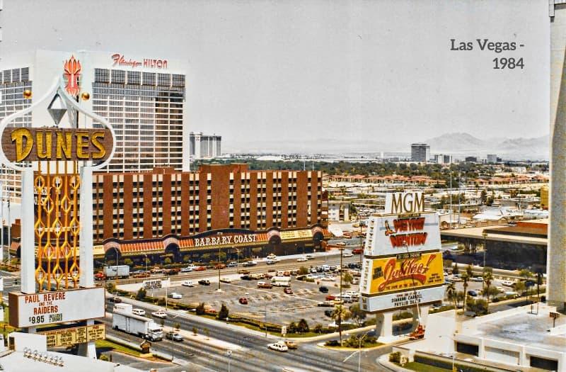 Flamingo Las Vegas en 1984