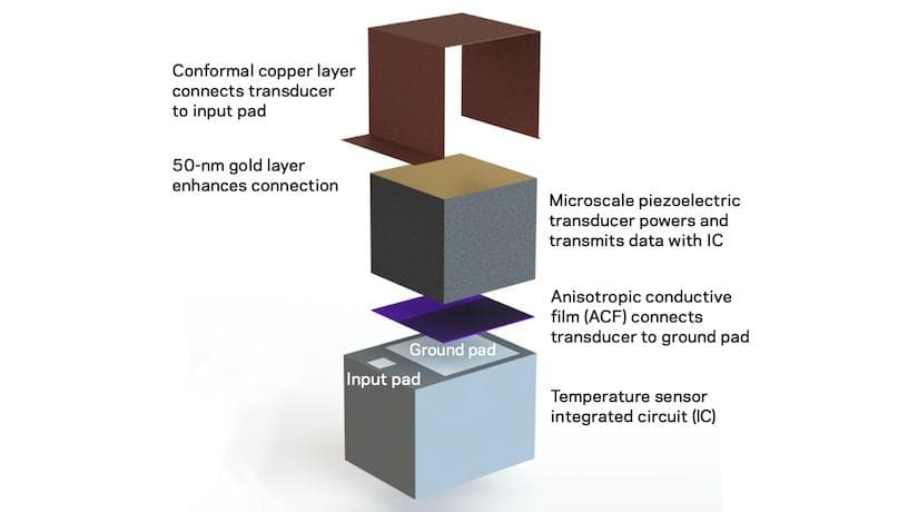 estructura general del chip implantable