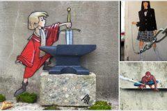 ingeniosos grafitis
