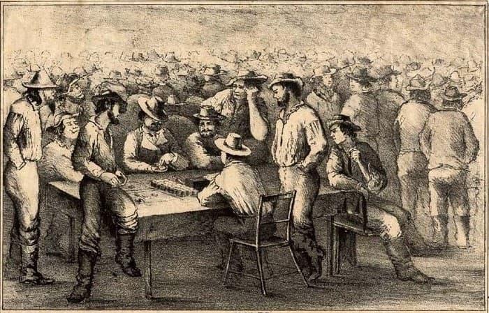mesas de juego