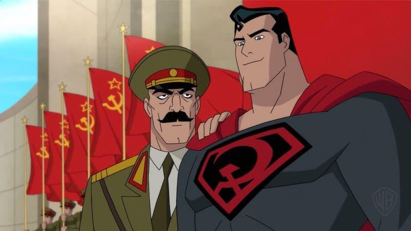 superman rojo comunista