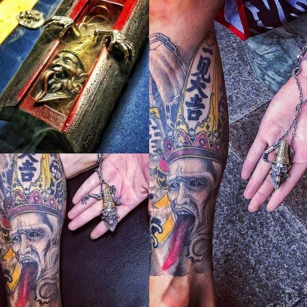 tatuajes religiosos en china