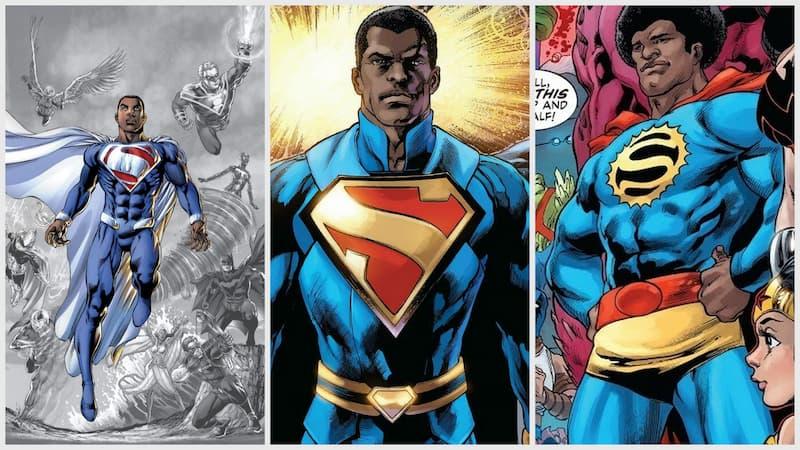 versiones superman negro