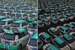 Cementerio de autos eléctricos China (3)