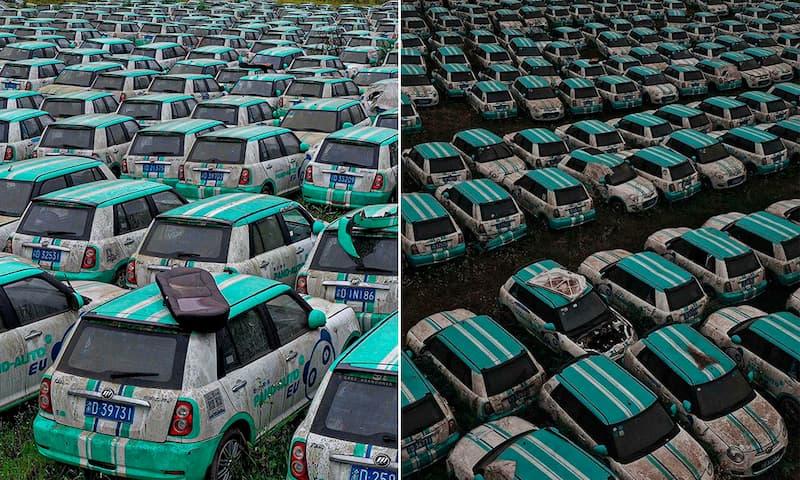 Cementerio de autos eléctricos China (3)(1)