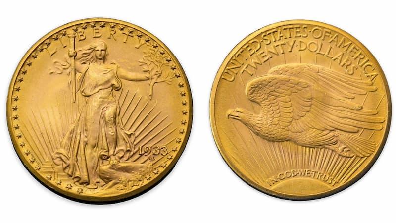 Double Eagle Moneda de oro(1)