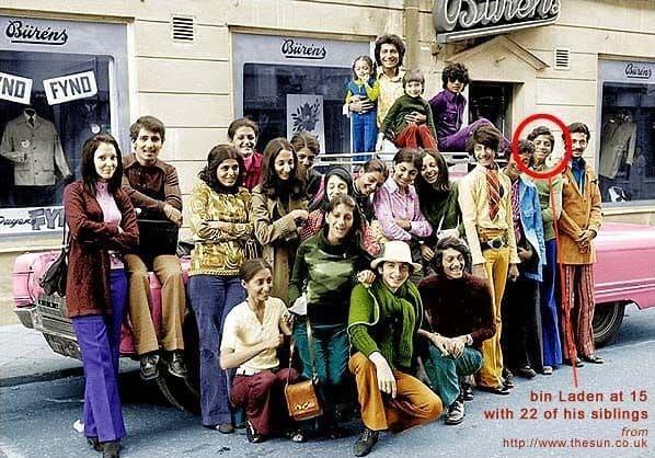 Osama Bin Laden y su Familia