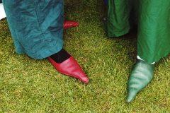 zapatos puntiagudos edad media