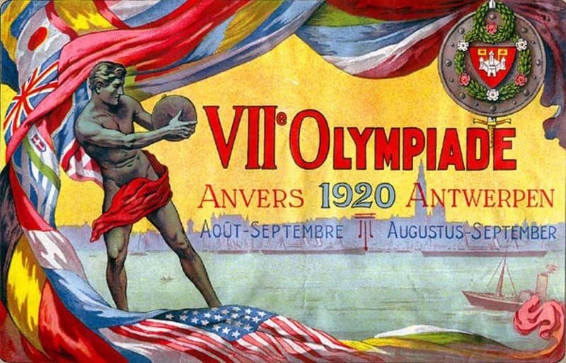 Olimpiadas de 1920, con sede en Amberes