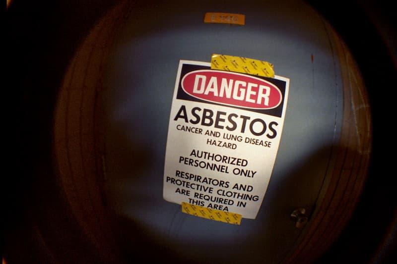 Peligro asbesto