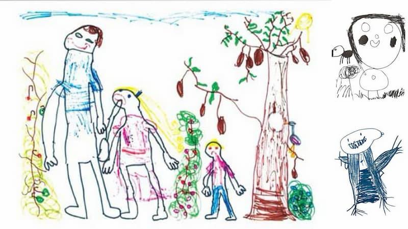 abuso en menores dibujos pistas