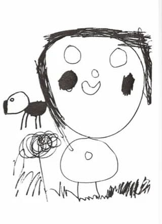dibujos abuso infantil ojos blancos