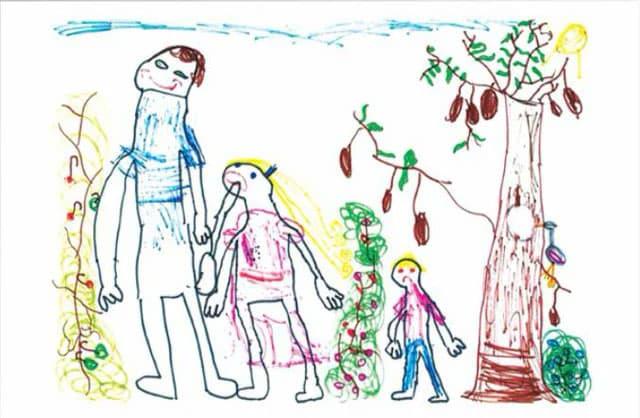 dibujos abuso infantil