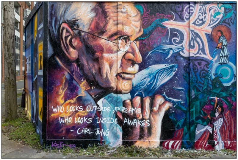 grafiti de carl jung
