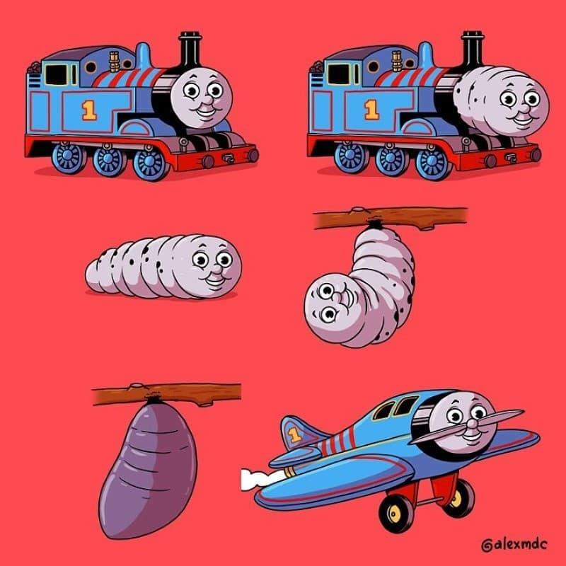 ilustraciones personajes cultura pop (8)