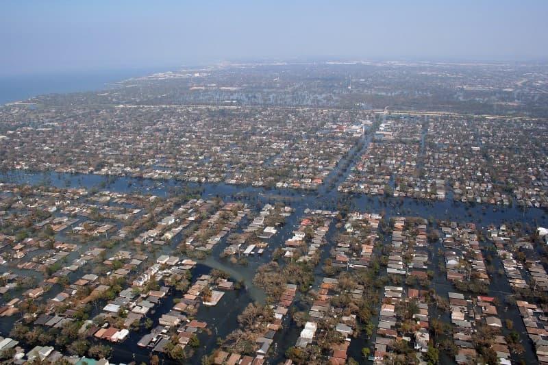 inundaciones del huracan katrina
