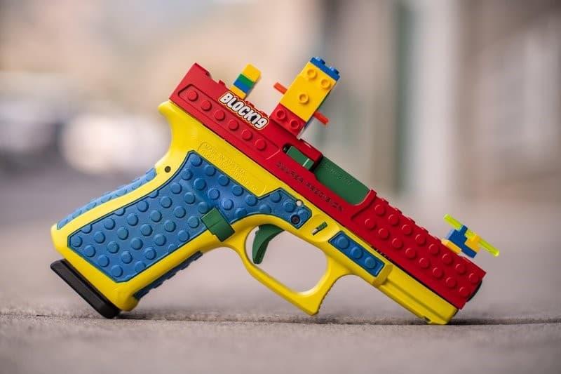 pistola lego glock 19