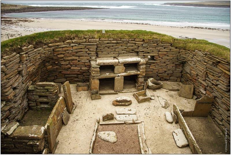 ruinas Skara Brae