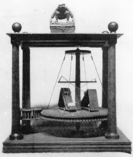 Máquina de movimiento perpetuo de Charles Redheffer