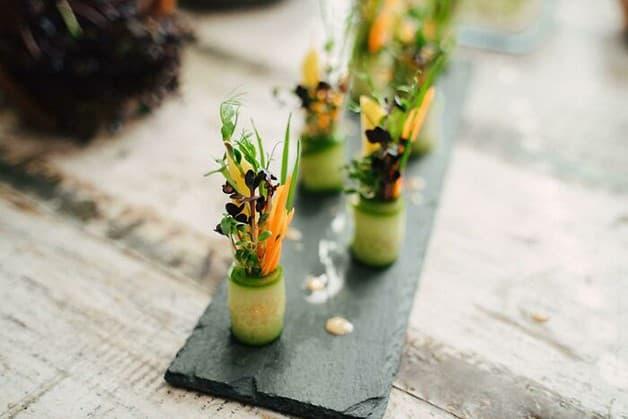 Rollos de ensalada