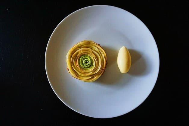 Tartaleta de manzana caramelizada